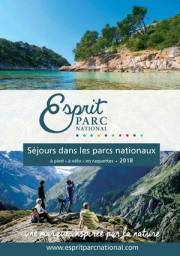 Couverture du catalogue Esprit parc national - Inspirations 2018