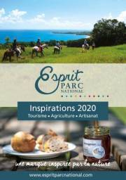 Couverture du catalogue Esprit parc national, inspirations 2020