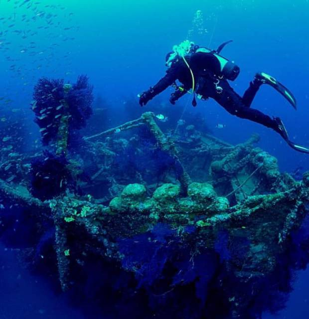 Exploration des fonds marins TIKIdive